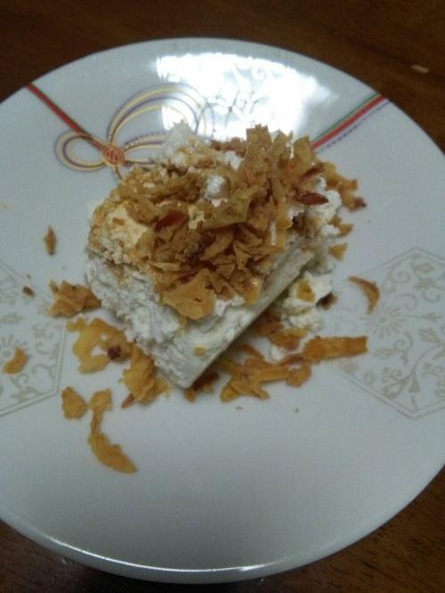 フライドオニオン牛乳豆腐