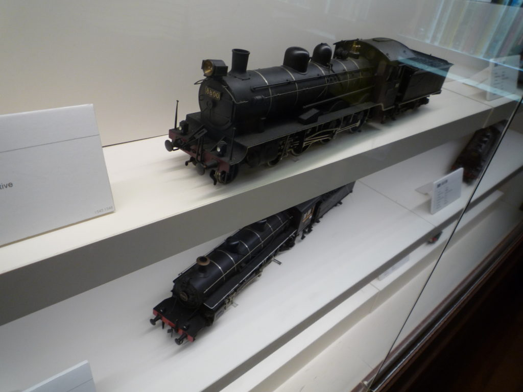 汽車の鉄道模型width=