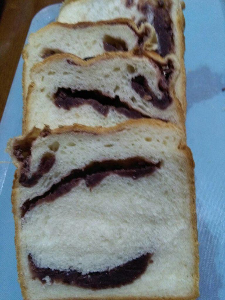 あんこの食パン