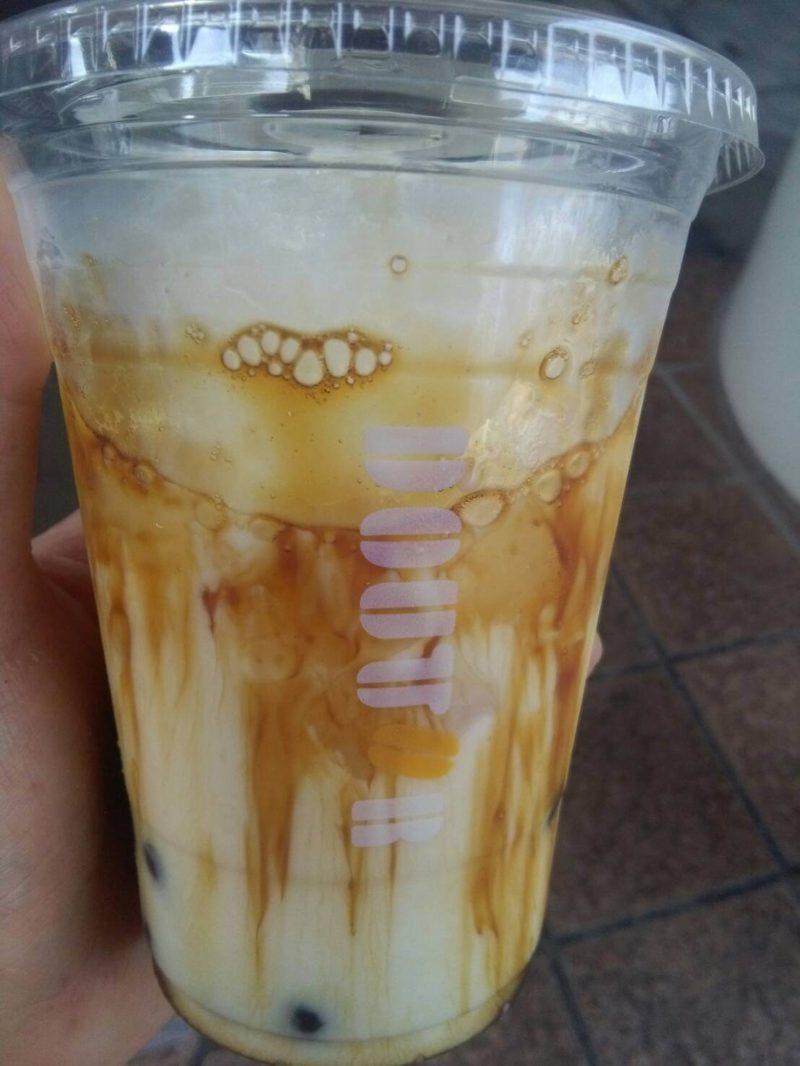 ドトールタピオカ黒糖ミルク
