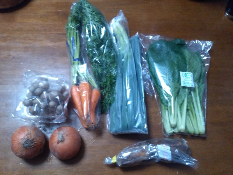 坂ノ途中のお試しセット6種類の野菜